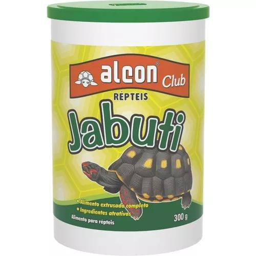 Kit 03 unid ração alcon club jabuti 300gr