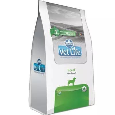 Ração farmina vet life natural renal para cães adultos