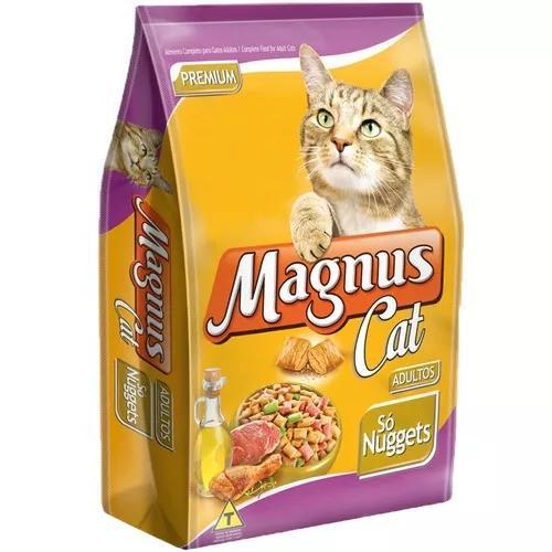 Ração magnus cat só nuggets para gatos adultos - 15 kg