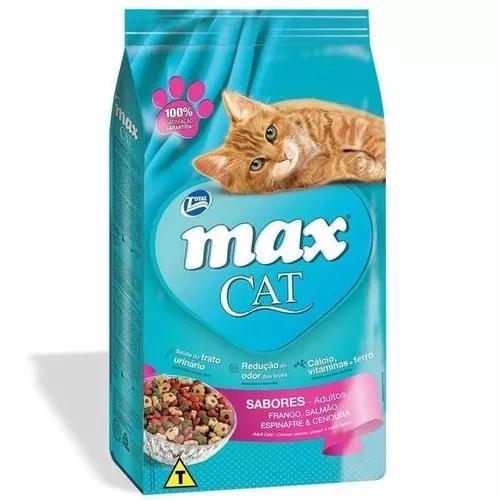 Ração total max cat sabores 20 kg