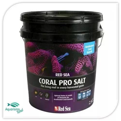 Red sea coral pro salt 7kg sal para aquário marinho p/ 210l
