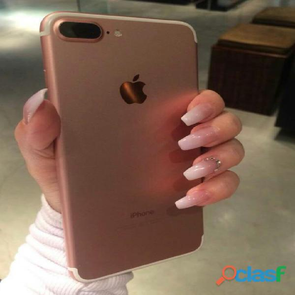Iphone 7 plus 128gb rose desbloqueado
