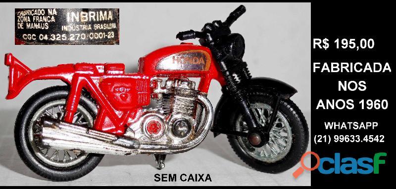 Moto Honda da marca Inbrima.Novíssima. 4