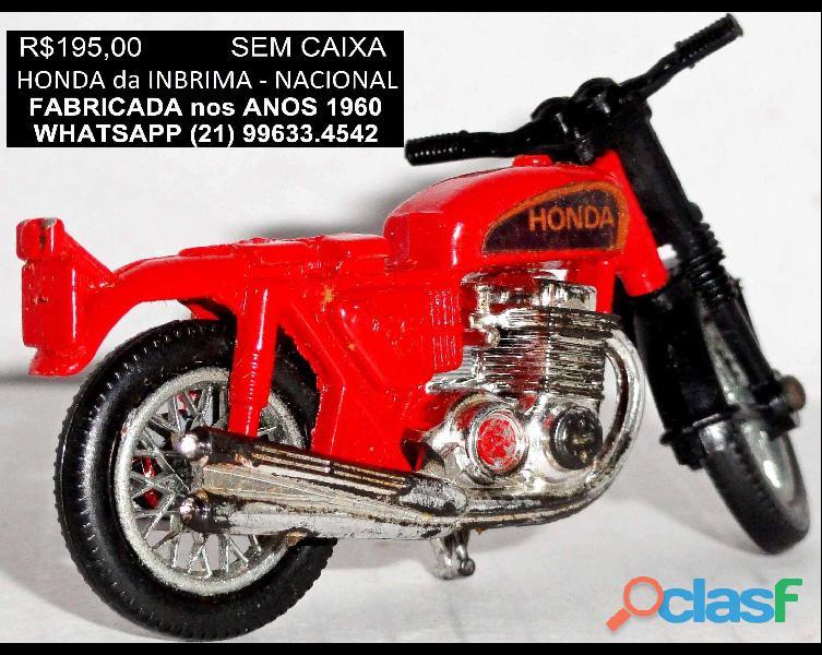 Moto Honda da marca Inbrima.Novíssima. 2