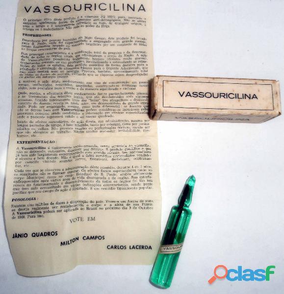 Campanha do Jânio Quadros em 1960.