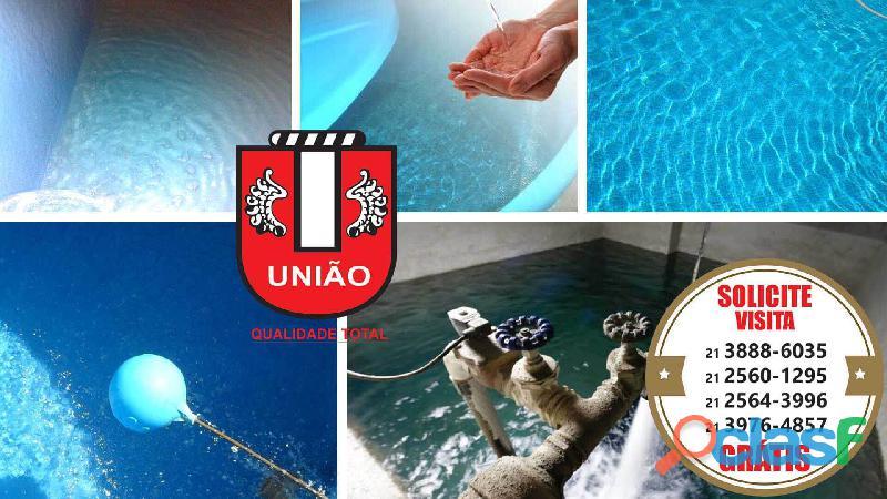 Serviços limpeza das caixas d'água e cisternas condomínios e empresas no Rio de Janeiro
