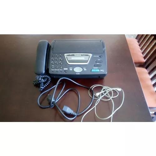 Aparelho fax panasonic kx-ft71 usado