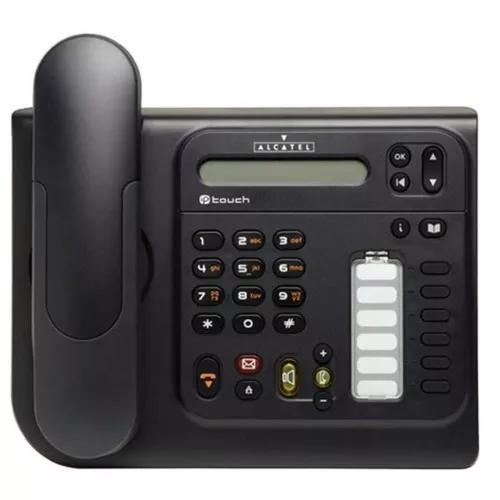 Aparelho telefônico ip alcatel s/ fonte lucent 4018