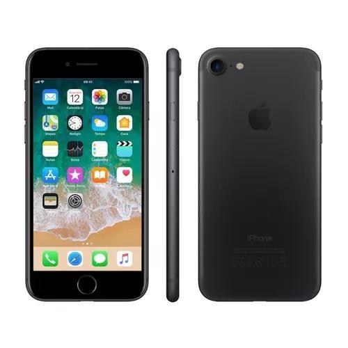 Apple iphone 7 256gb 4g tela 4.7 12mp vitrine barato