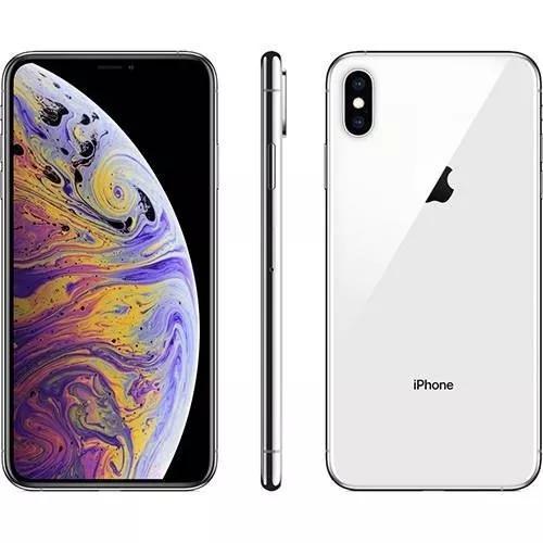 Apple iphone xs max 64gb tela de 6,5 4g 12mp