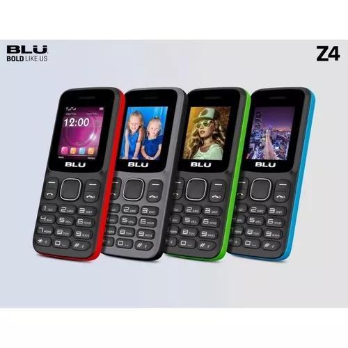 Celular blu z4 dual chip tela 1.8 bluetooth cores