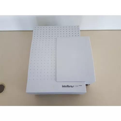 Central pabx intelbras corp 16000 16 linhas, 48 ramais