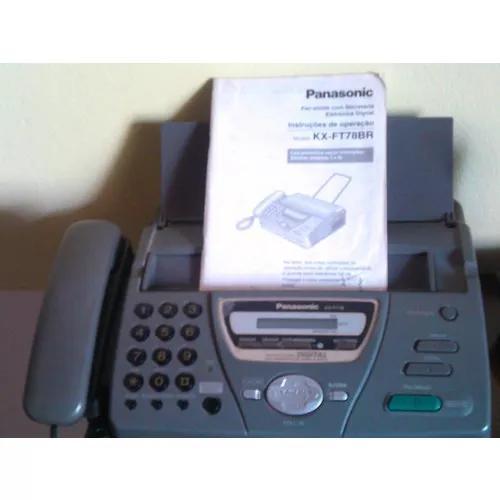 Fax Panasonic Com Secretária Eletrônica E Viva Vox