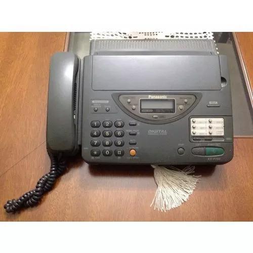 Fax panasonic kx f700 e manual funcionando