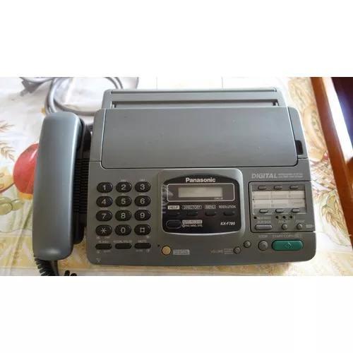 Fax panasonic kx-f780 + bobina de papel nova