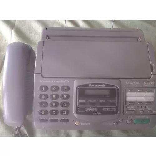 Fax panasonic kxf 880 com secretaria eletrônica