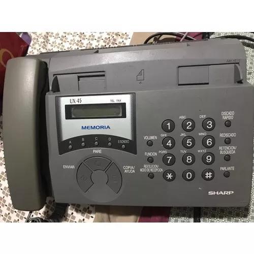 Fax sharp ux-45