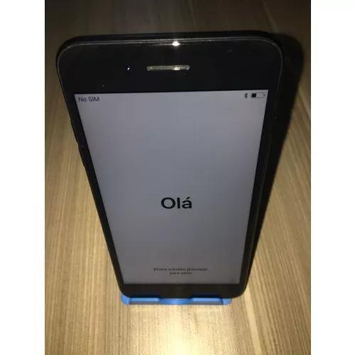 Iphone 7 plus 32 preto prata rosa nota vitrine original