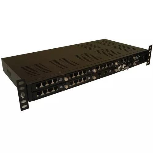 Pabx digistar xip 270 - 1 e1 + 4 troncos + 48 ramais
