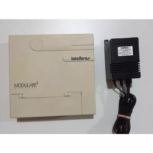 Pabx modulare i 4 linhas e 12 ramais+4 telefones