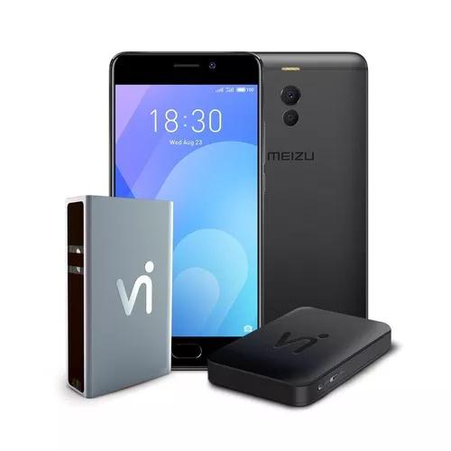 Phonestation meizu m6 note preto, 5.5, 4gb ram, 64gb