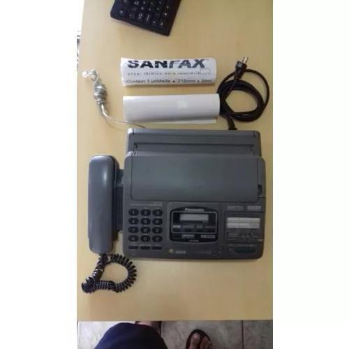 Telefone fax panasonic mod kx8880 c/ copiadora, secretária