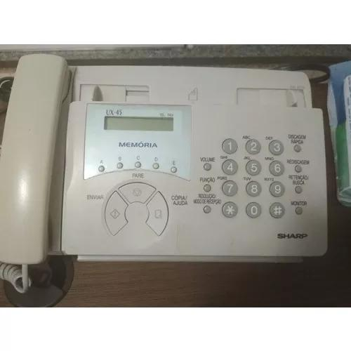 Telefone fax sharp ux-45