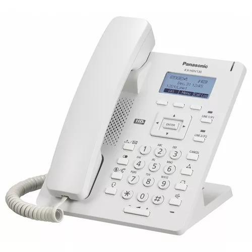Telefone ip panasonic 2 linhas sip suporte a poe kx-hdv130x