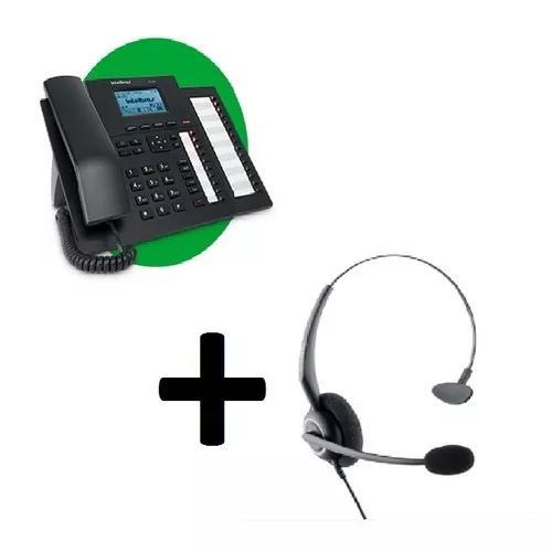 Terminal inteligente intelbras ti 5000 + headset chs 55