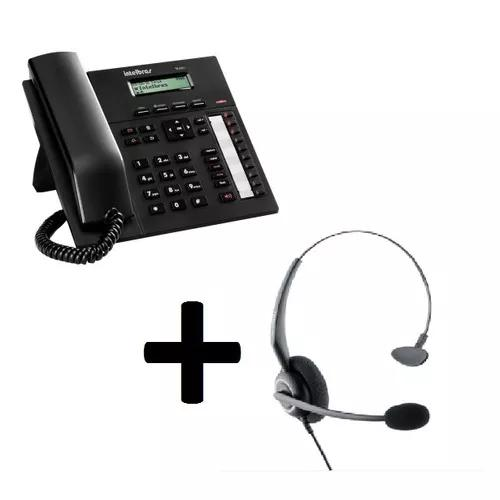 Terminal inteligente intelbras ti 830i + headset chs 55