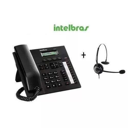 Terminal inteligente ti 830i intelbras + 01 fone chs-55