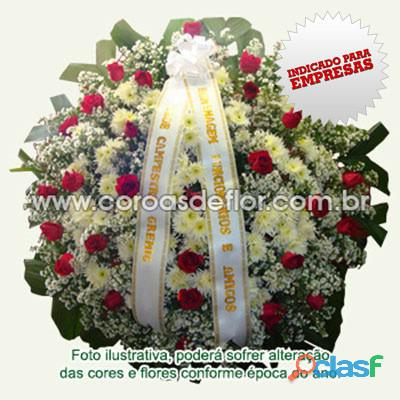 Coroa de flores velório da saudade coroas cemitério da saudade bh