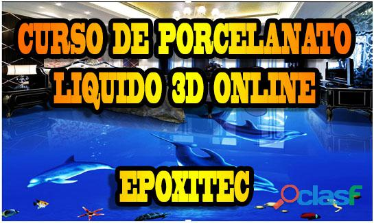Curso de porcelanato liquido 3d online