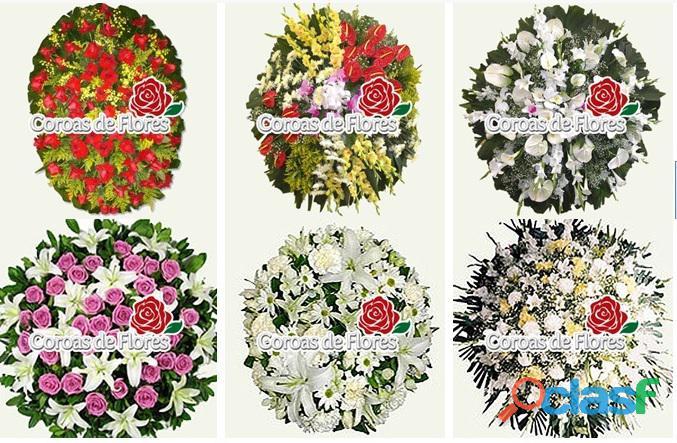 Funeral House entrega coroa de flores Velório Funeral House floricultura BH