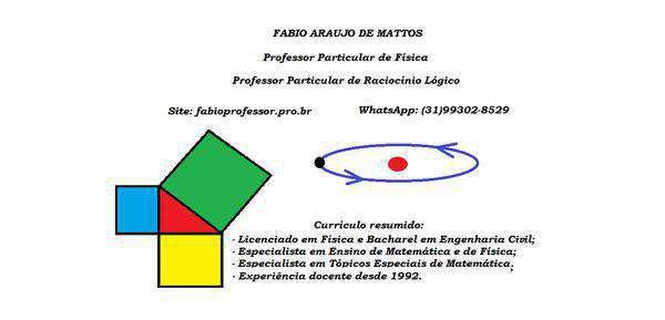 Aula particular de física e de raciocínio lógico /