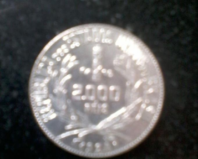 Coleção de moedas de 2000 mil réis (prata)