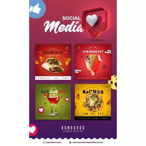 Criação de artes redes sociais / cartão de visitas e