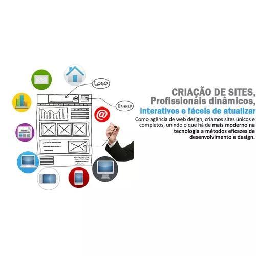 Desenvolvimento de sites + hospedag