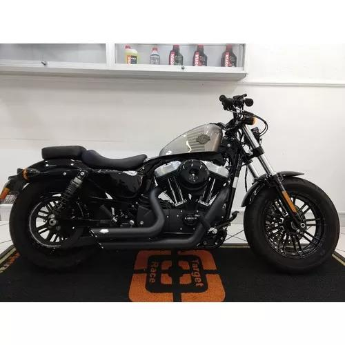 Harley davidson xl 1200 forty eight prata 2017 - target race