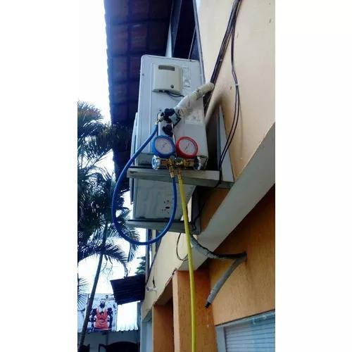 Instalação e manutenção de ar condicionado split e