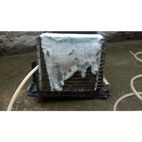 Limpeza e instalação de ar condicionado janela e split.