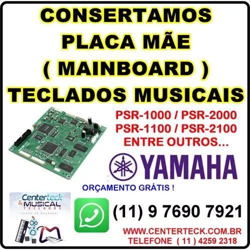 Placa teclado musical consertamos yamaha roland korg alesis