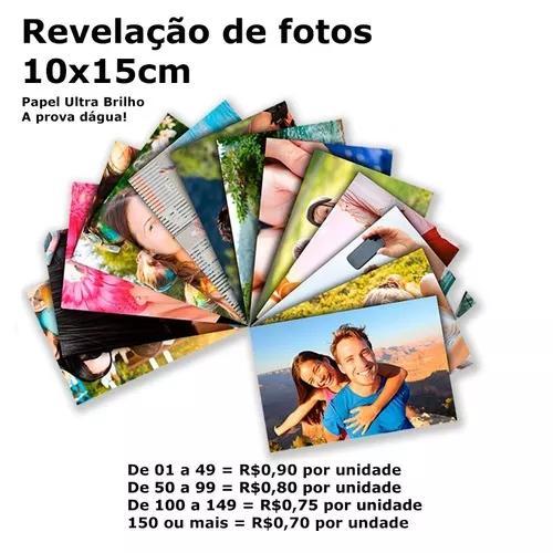 Revelação de fotos 10x15cm - o mais barato, de qualidade!