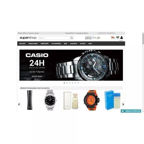 Sites profissionais p/ venda de produtos online mercado