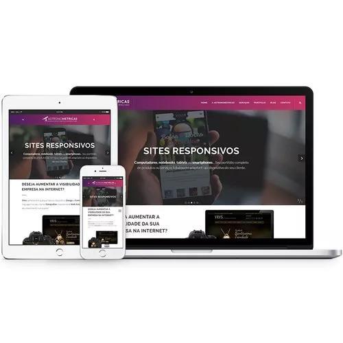 Website Profissional - Design Responsivo E Painel Admin