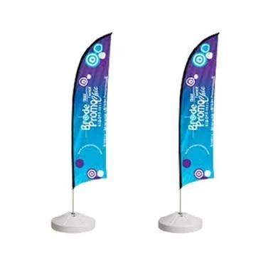 Wind banner promoção de natal