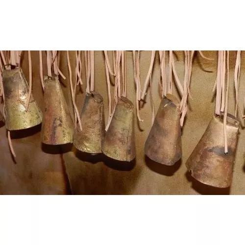 06 chocalhos de 8 cm para ovinos caprinos