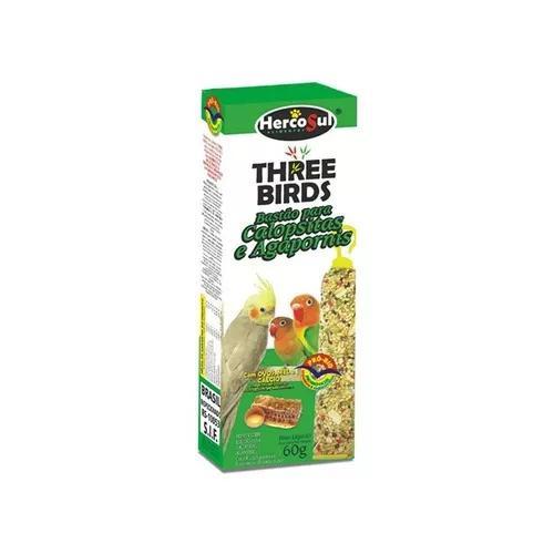 12 caixas bastão calopsita agapornes mel e ovos c/ 2