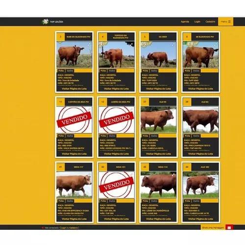 36 parcelas tourinhos senepol po genética gado