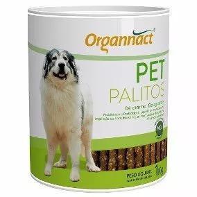 4 x pet palitos probiotico 1kg organnact 1 kg